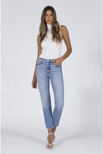 Brooke Straight Crop Jeans - Money Play