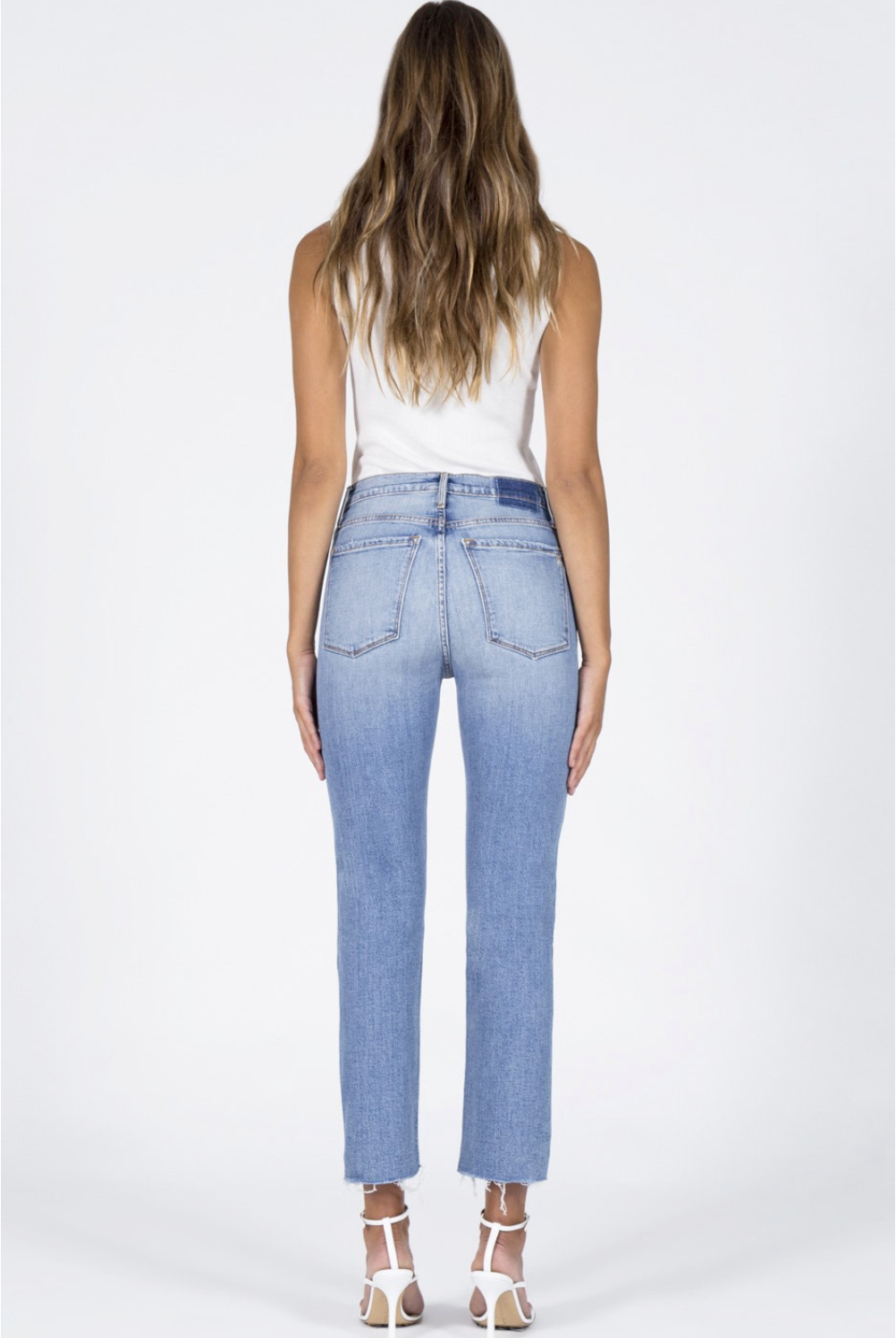 Brooke Straight Crop Jeans - Money Play-4