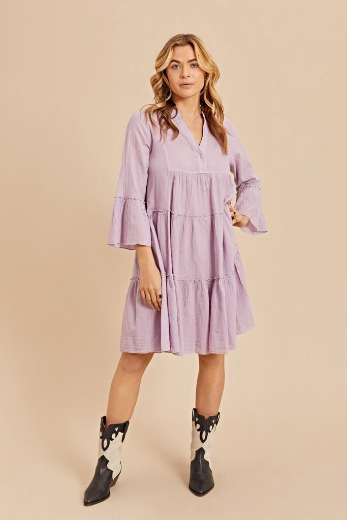 Dress Midi - Blue-2