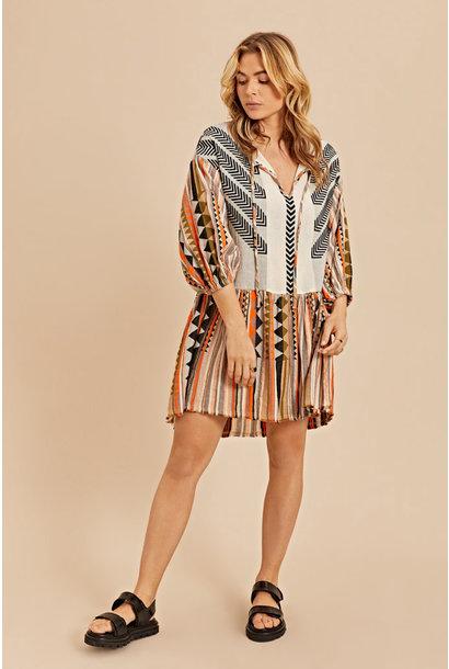 Short Dress - Khaki