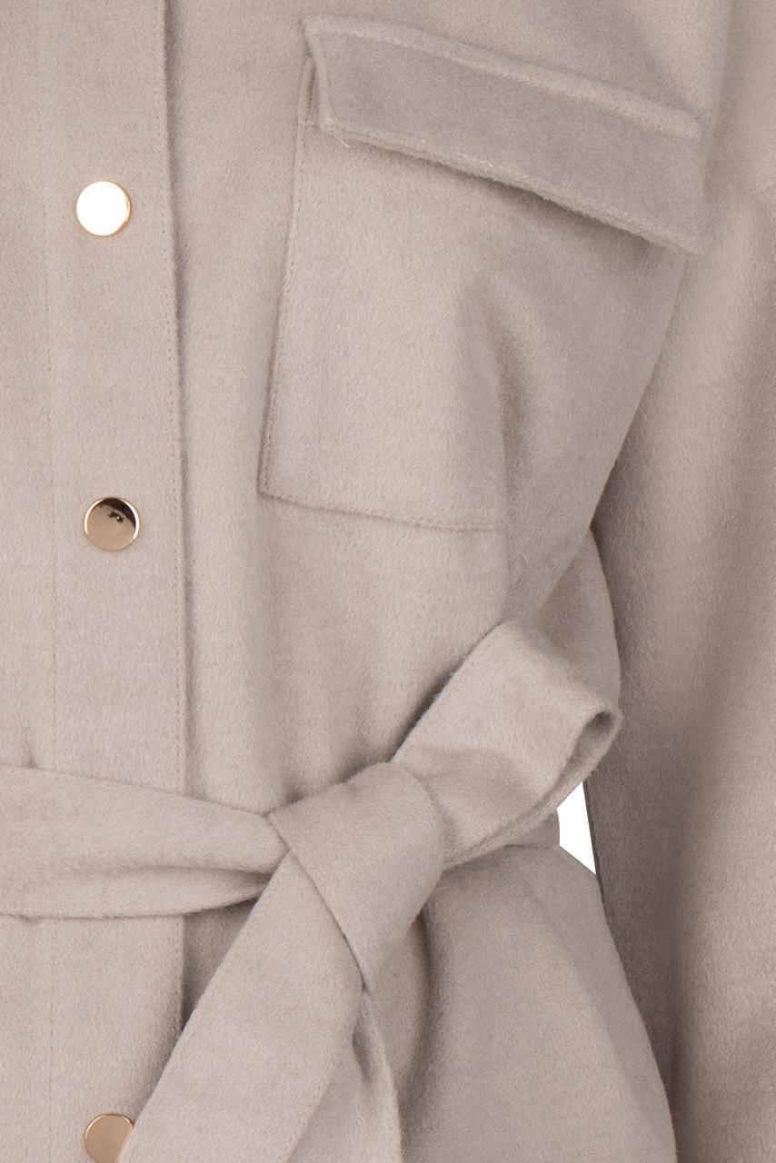 Siden Jacket - Warm Grey-4