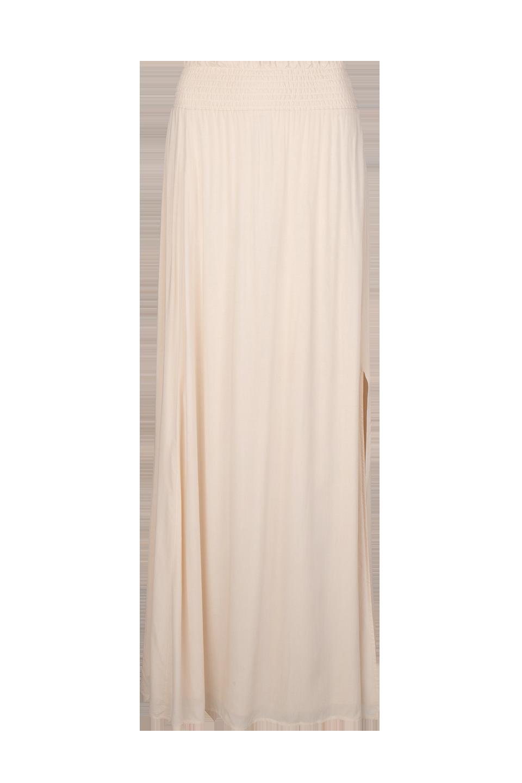 Mahina Long Skirt - Butter Cream-1