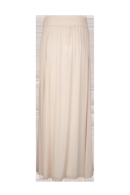 Mahina Long Skirt - Butter Cream-3