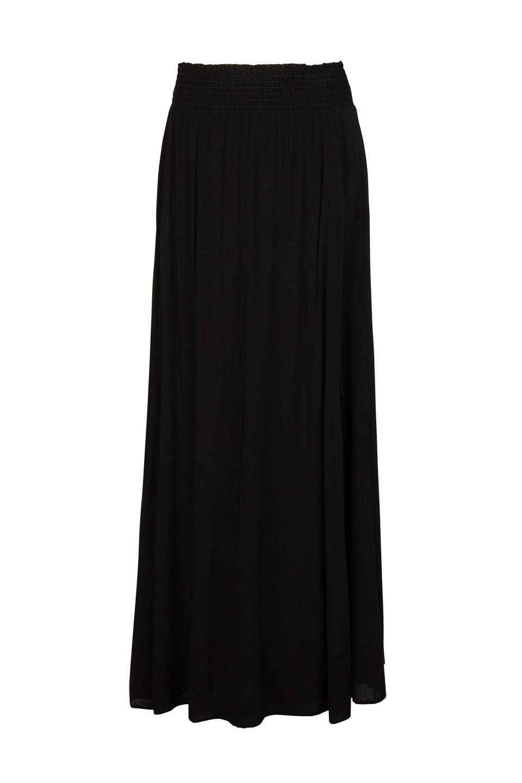 Mahina Long Skirt - Raven-1