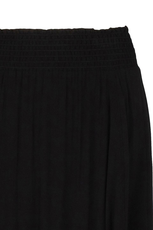 Mahina Long Skirt - Raven-4