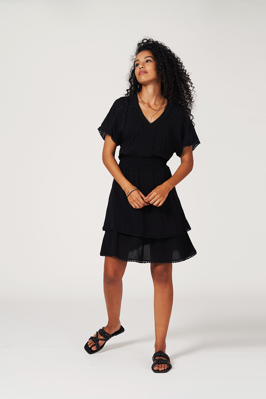 Leisure Dress - Raven-2