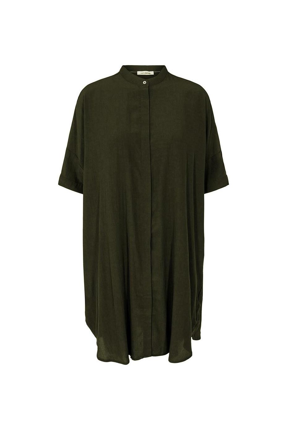 Sunrise Tunic Shirt - Dark Army-1