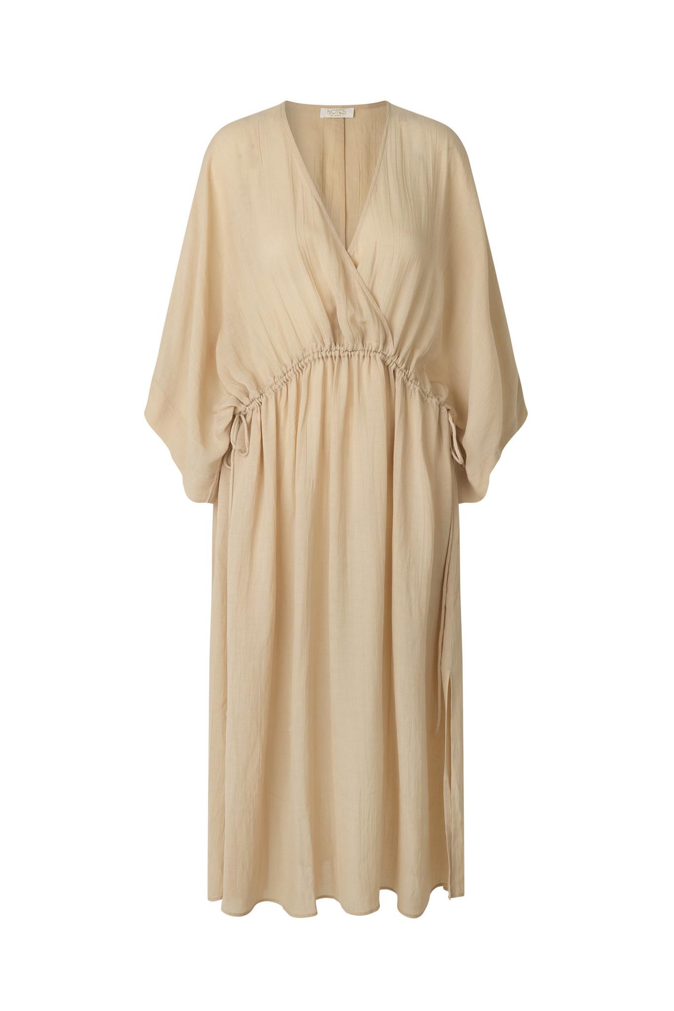 Tamia Dress - Beige-1