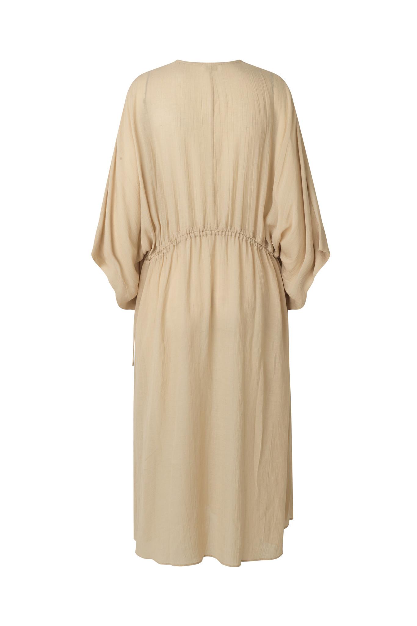 Tamia Dress - Beige-5
