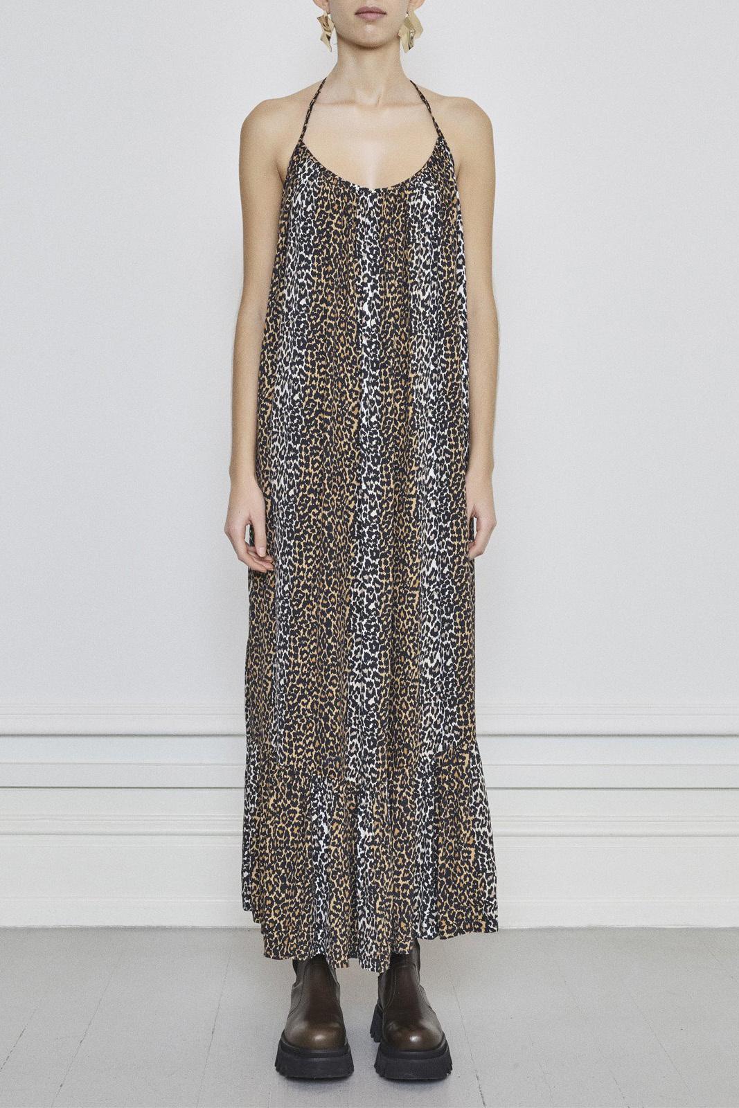 Taylor Leopard Halterneck Dress - Leopard-2