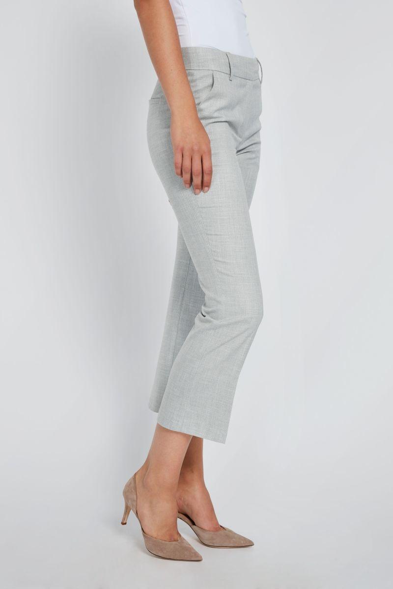 Clara Crop 721 Pant - Grey Melange-4