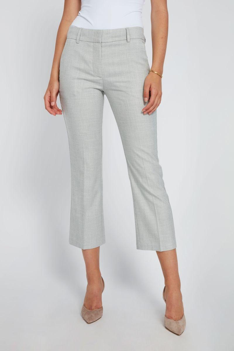 Clara Crop 721 Pant - Grey Melange-3