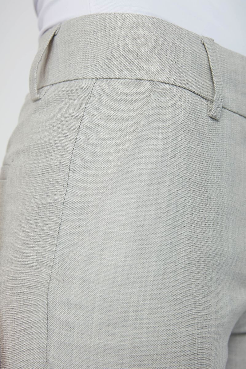 Clara Crop 721 Pant - Grey Melange-5