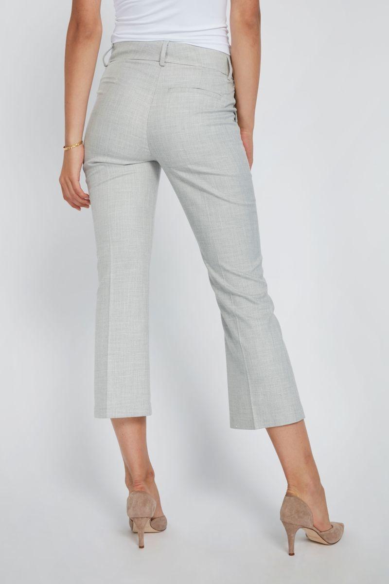 Clara Crop 721 Pant - Grey Melange-6