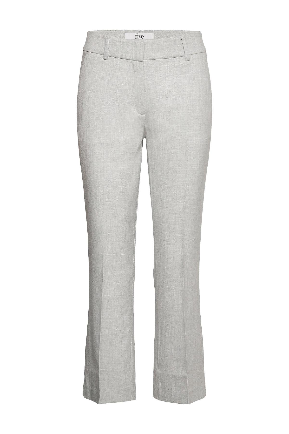 Clara Crop 721 Pant - Grey Melange-1