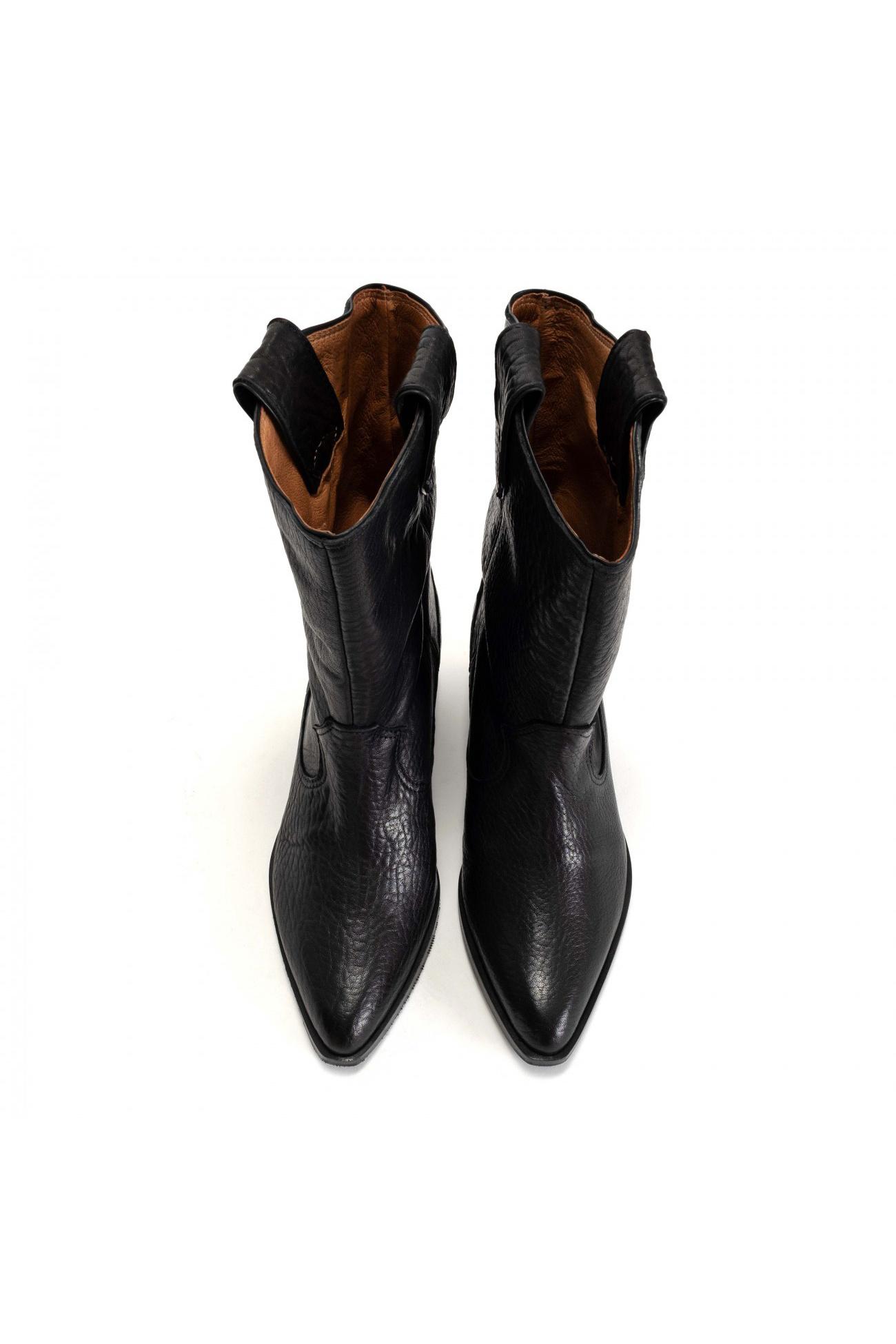 Saseline 35 Heavy Grain Calf Boot - Black-5