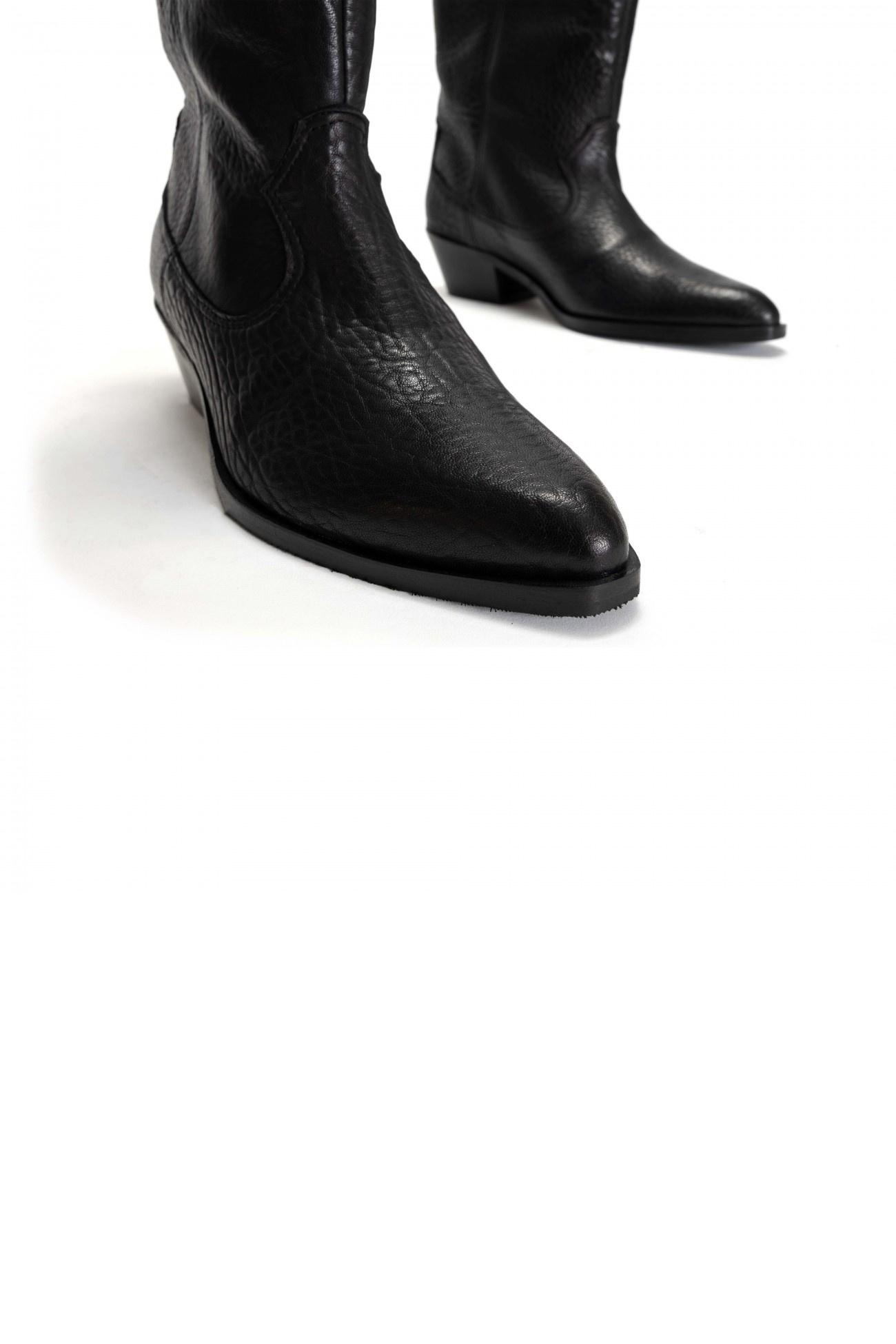 Saseline 35 Heavy Grain Calf Boot - Black-4