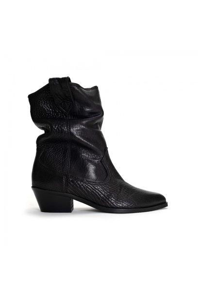 Saseline 35 Heavy Grain Calf Boot - Black