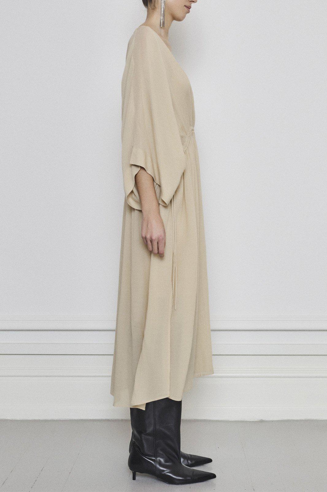 Tamia Dress - Beige-3