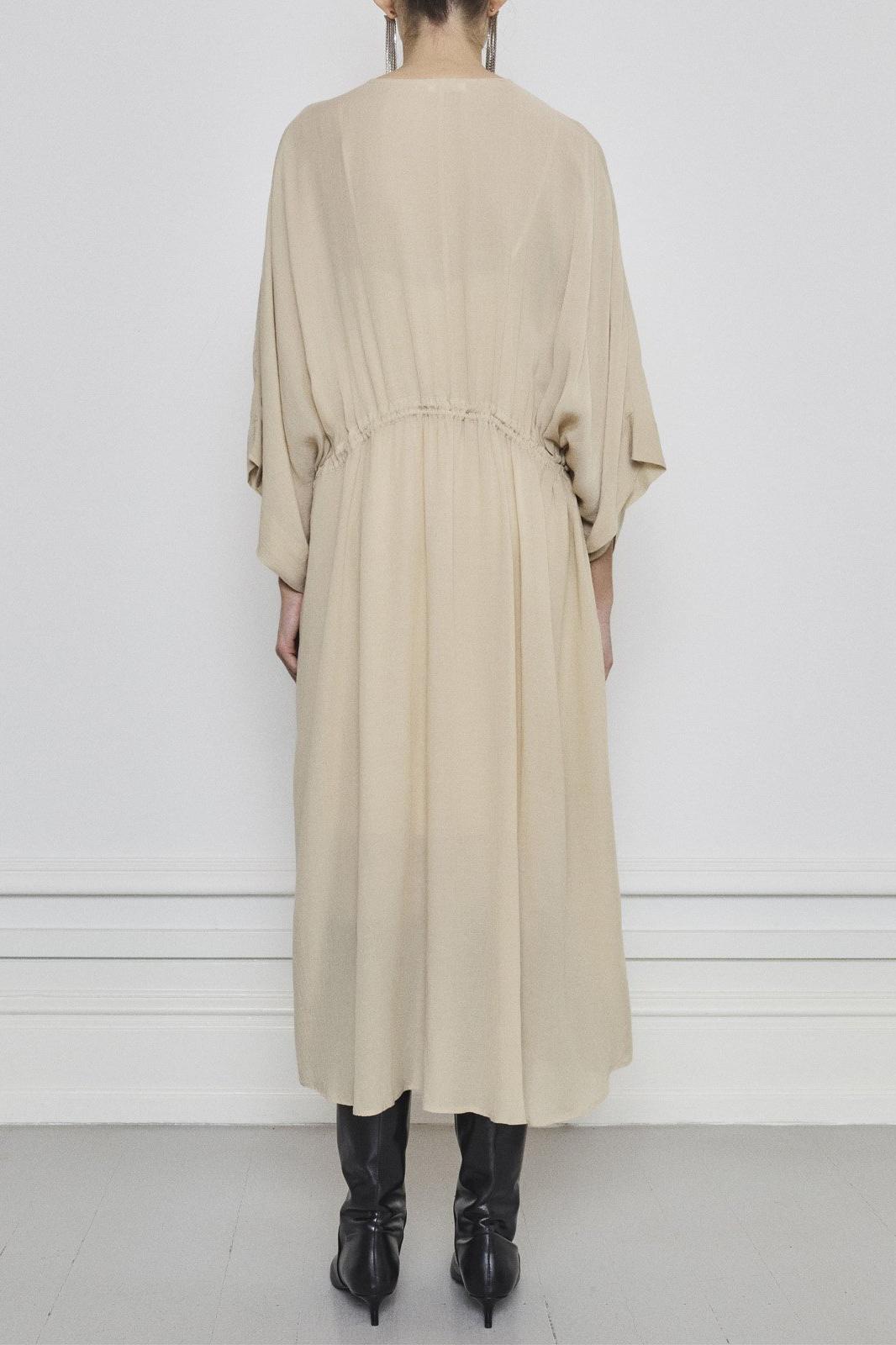 Tamia Dress - Beige-4