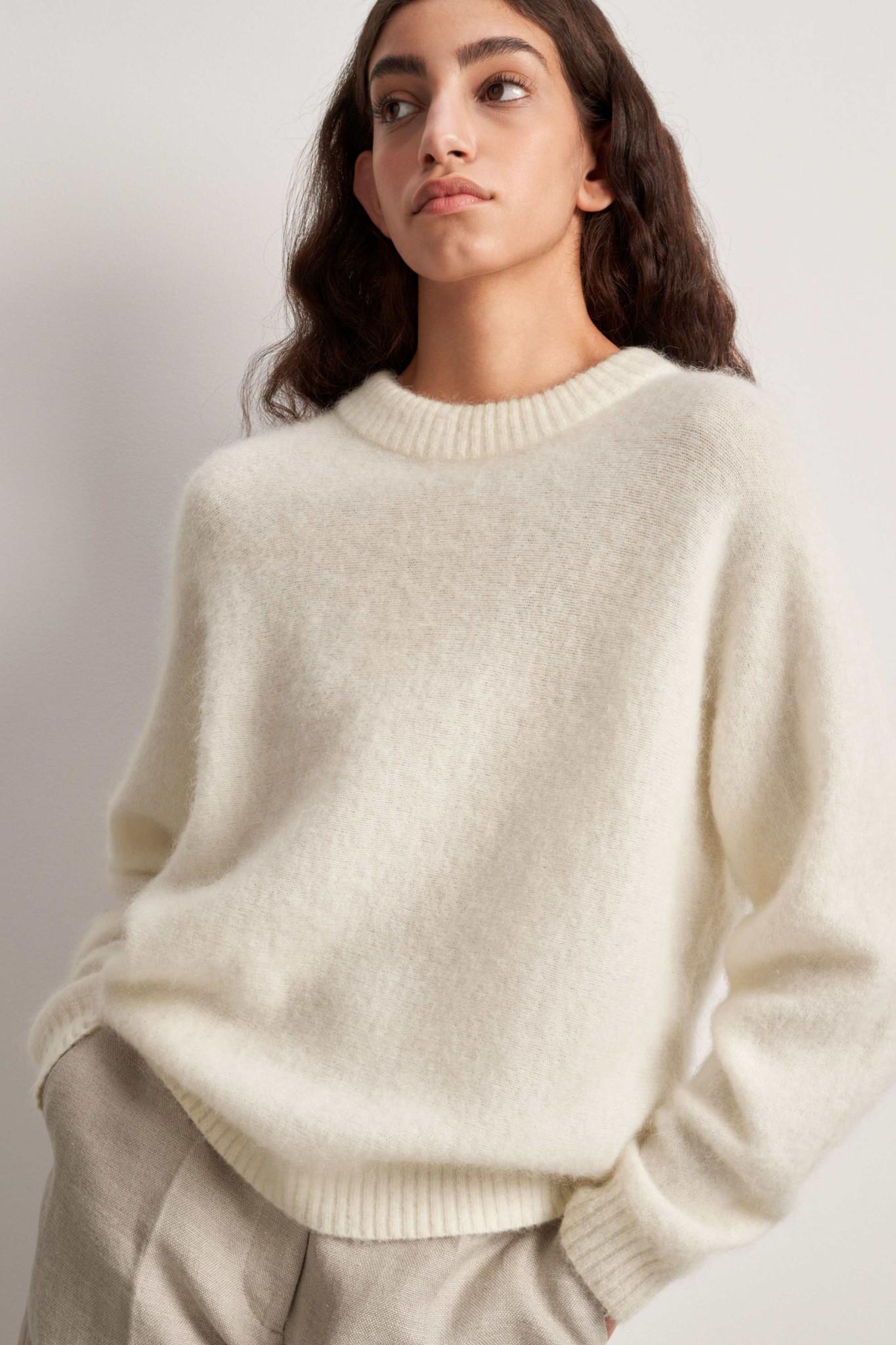 Gwynn Pullover - Pure White-2