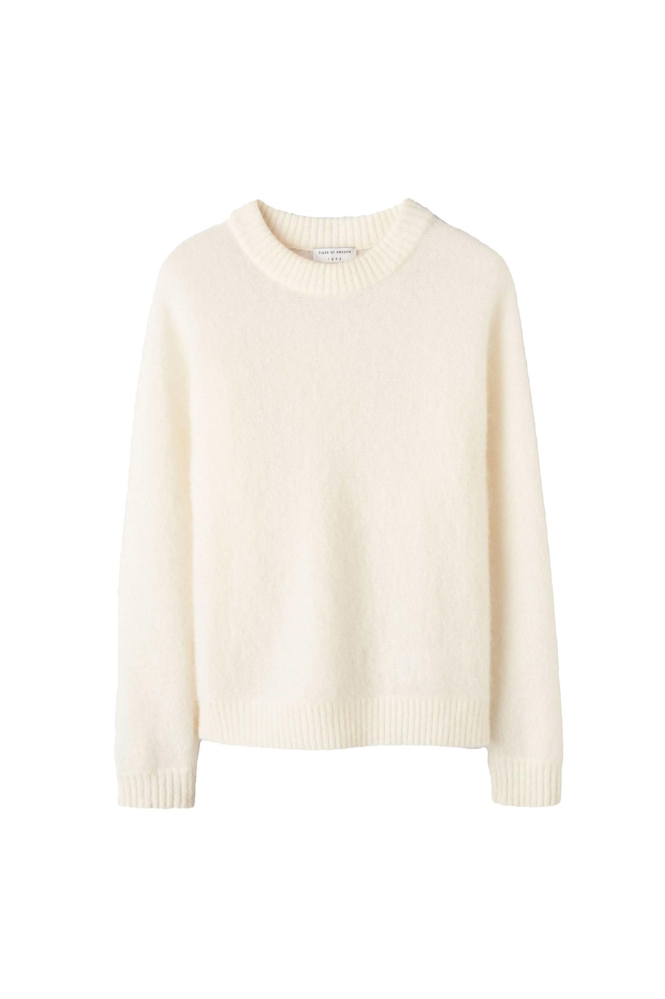 Gwynn Pullover - Pure White-1