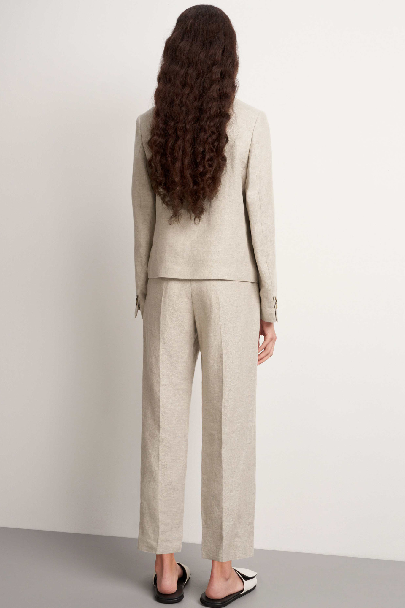 Thera Trousers - Feather-4