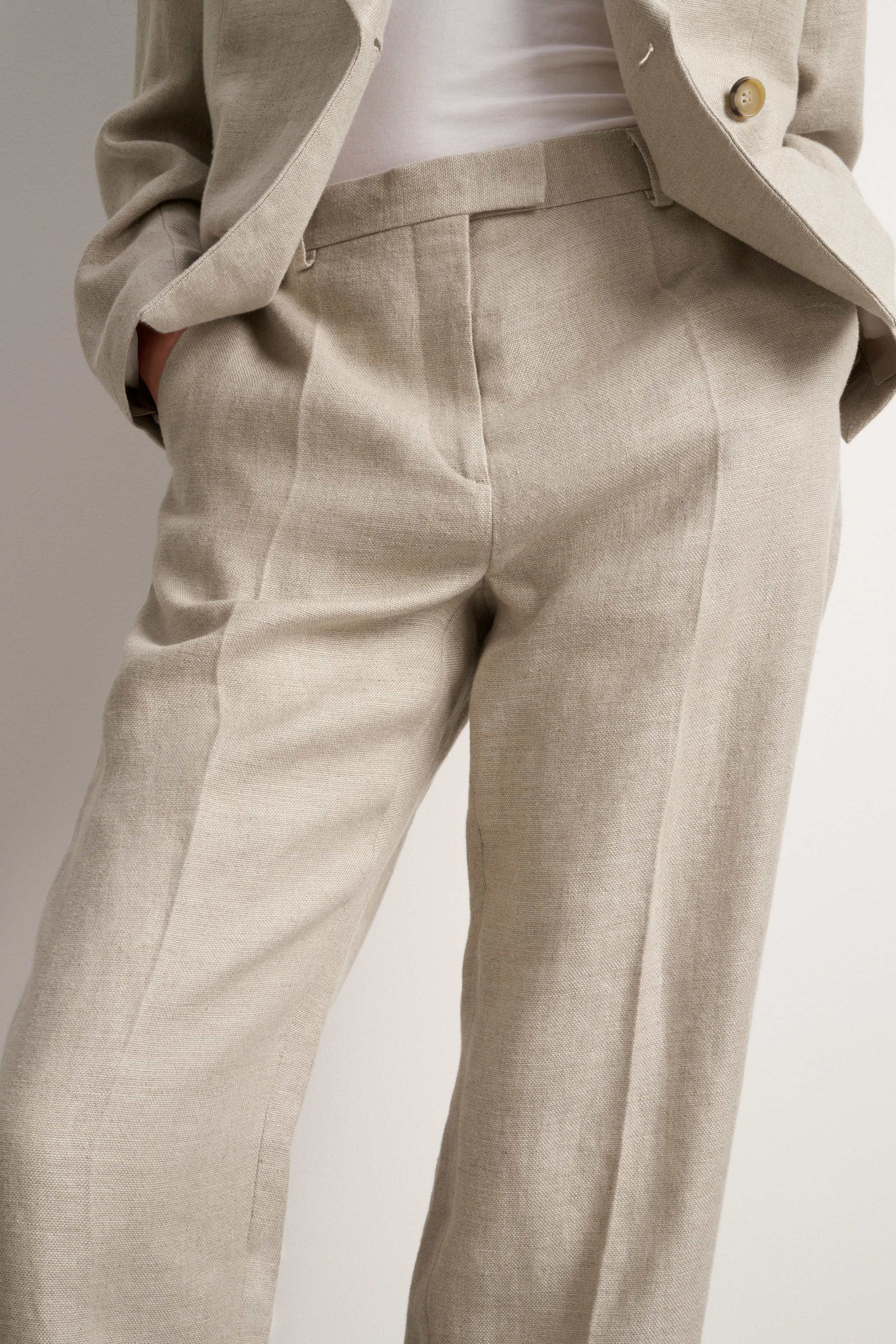 Thera Trousers - Feather-3