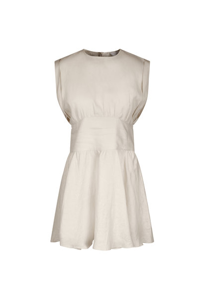 May Dress - Eggshell