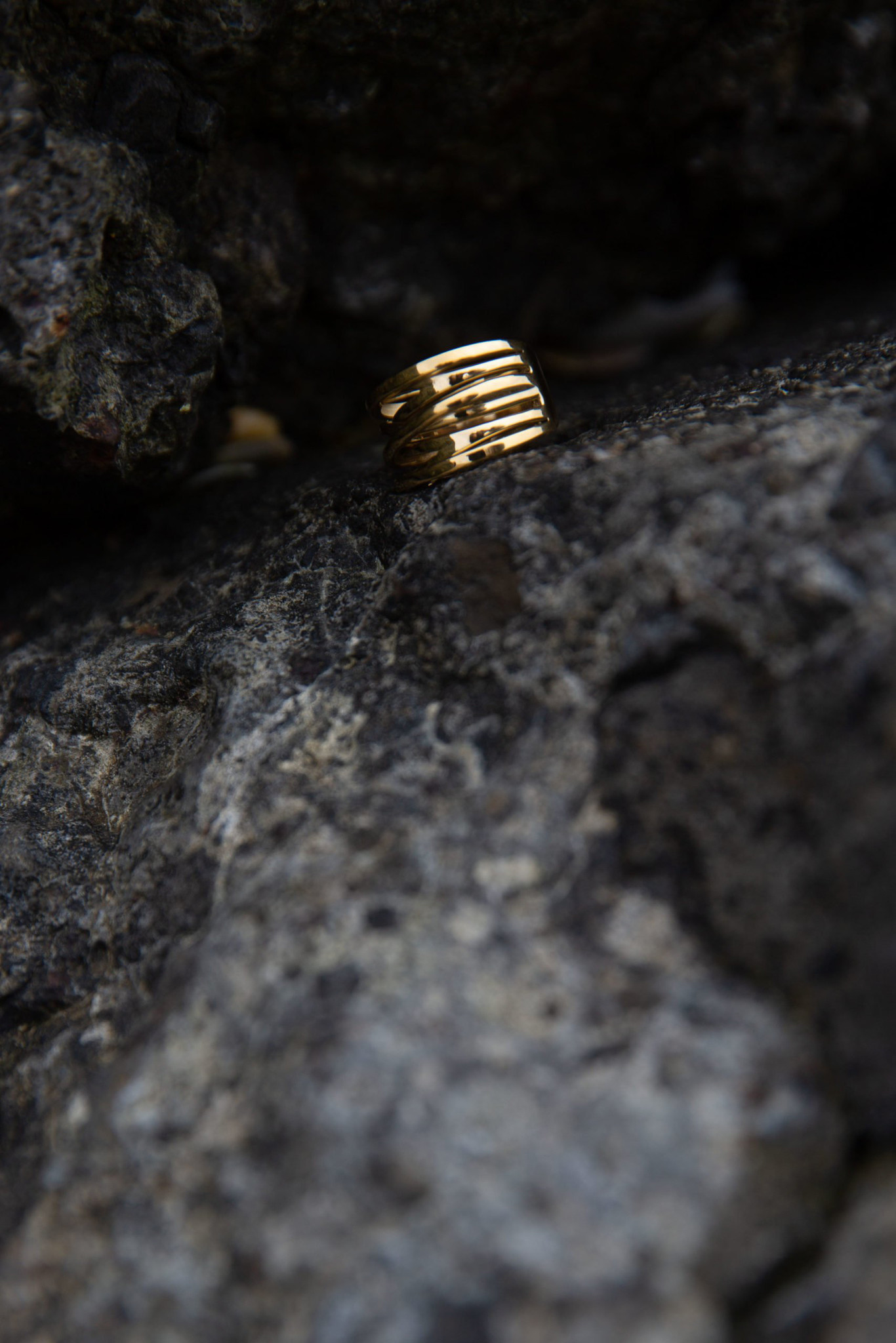 Coil Ring - Gold-5