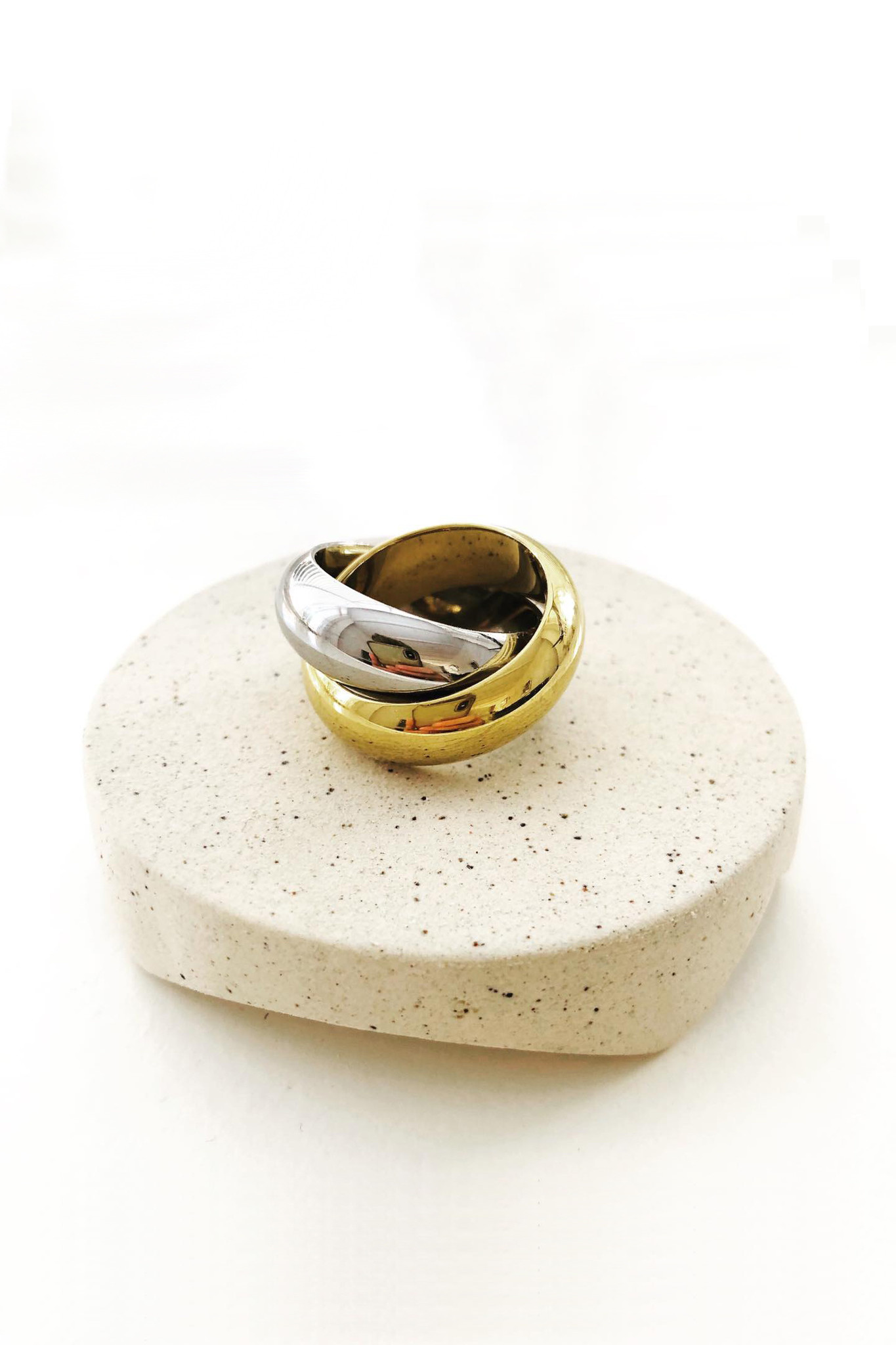 Better Together Ring - Gold / Silver-8