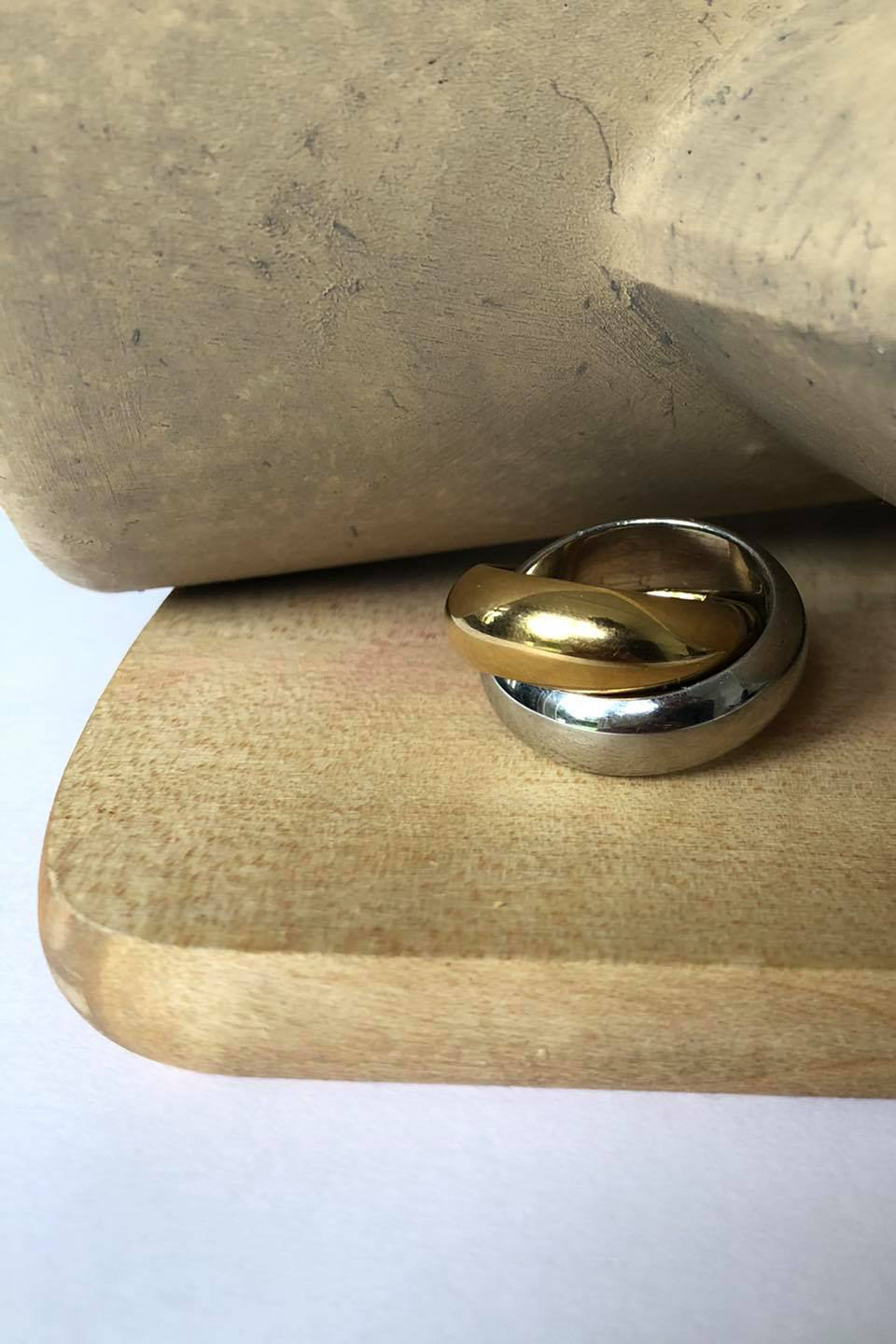 Better Together Ring - Gold / Silver-9