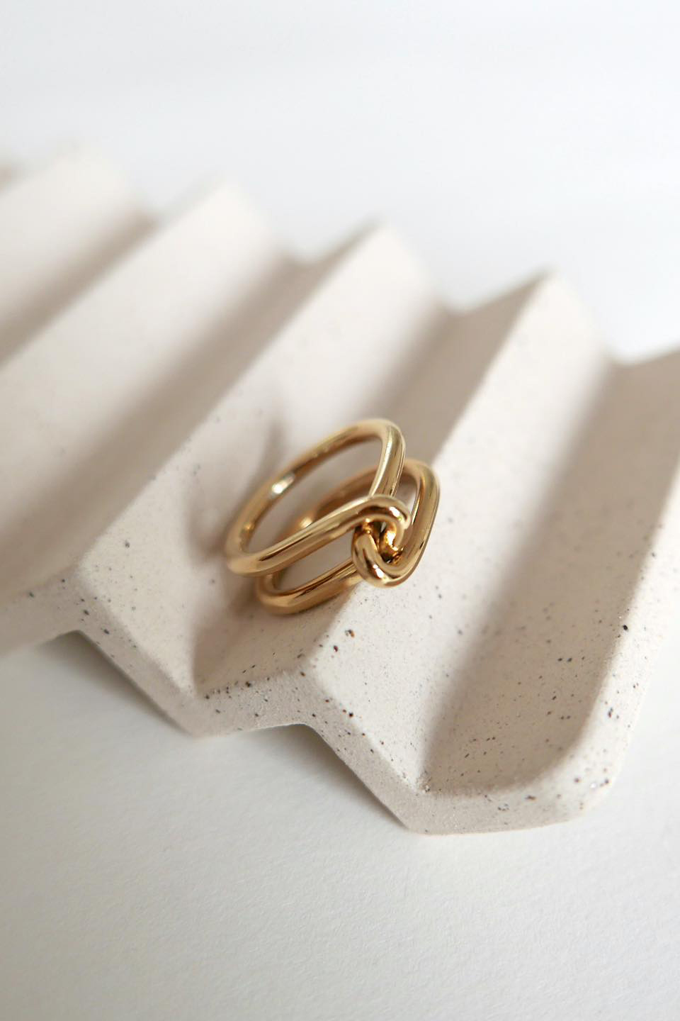 Wire Ring - Gold-5