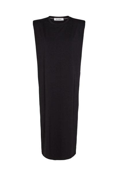 Eduarda Ankle Tee Dress - Black