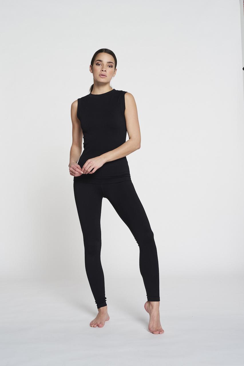 Luna Rib Legging - Black-10