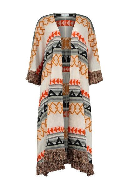 Kimono Long Oslo - Khaki