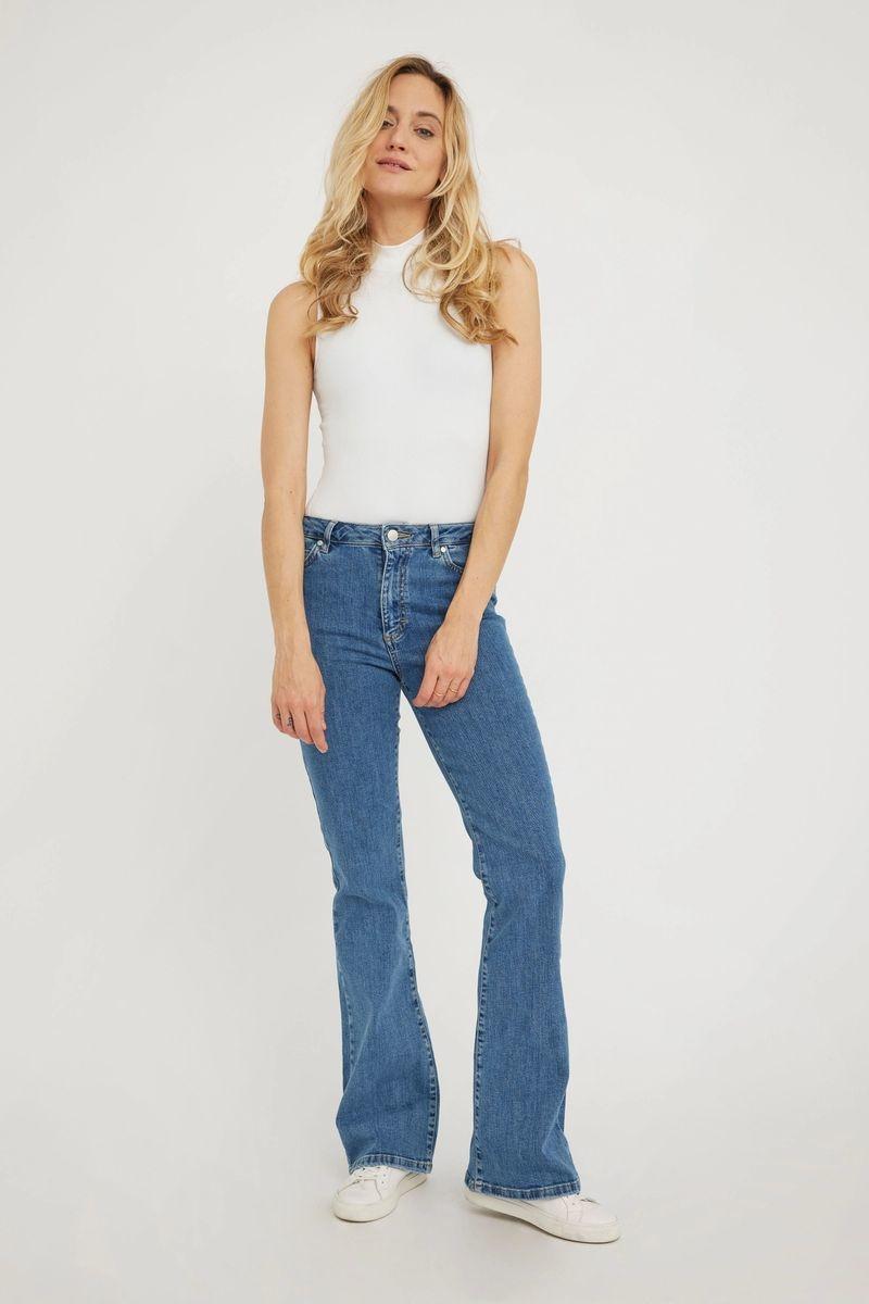Naomi 241 Jeans - Wave Blue-3