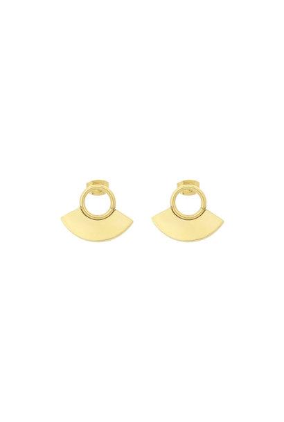 Moonsun Earrings - Gold