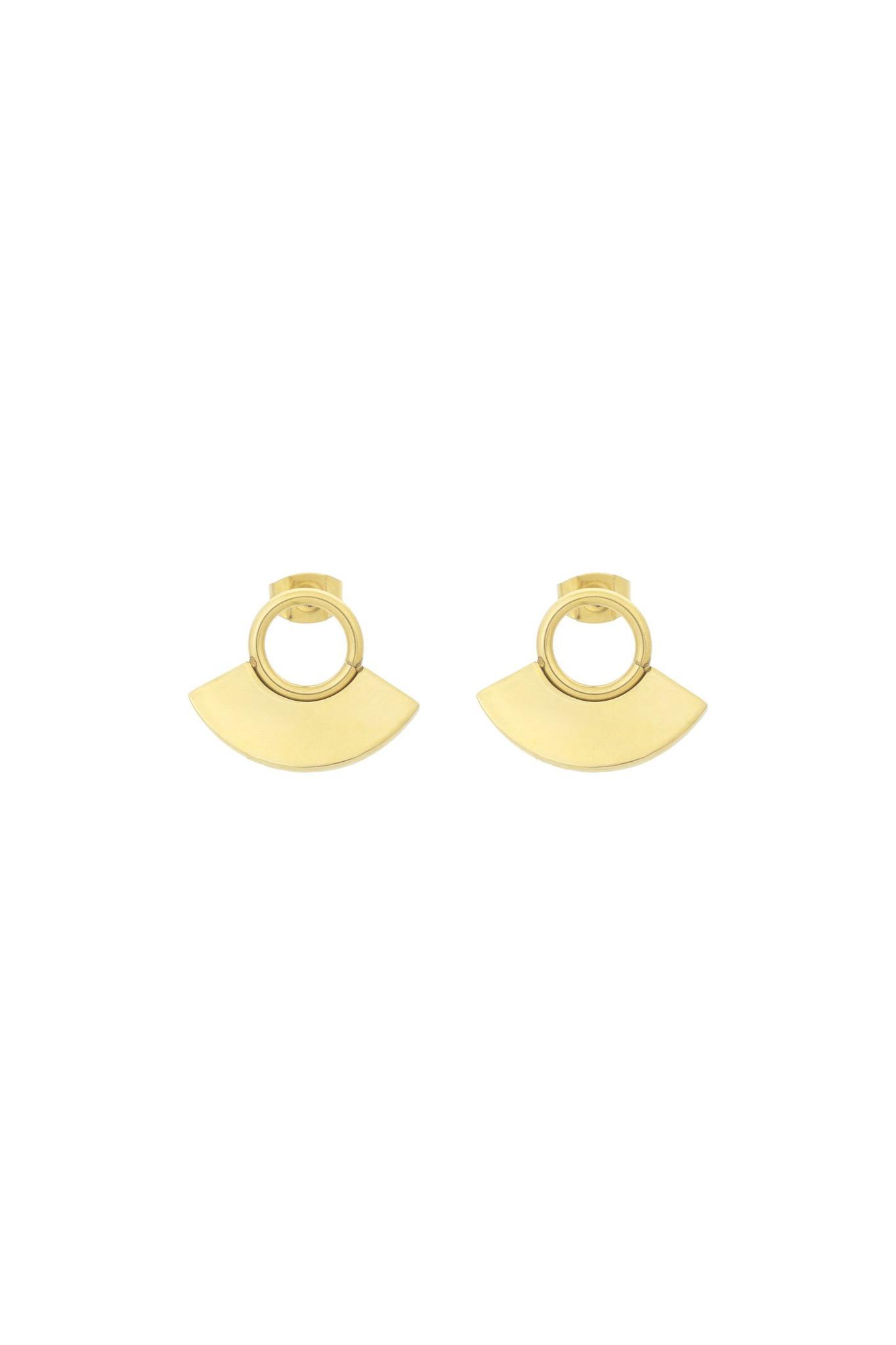 Moonsun Earrings - Gold-1