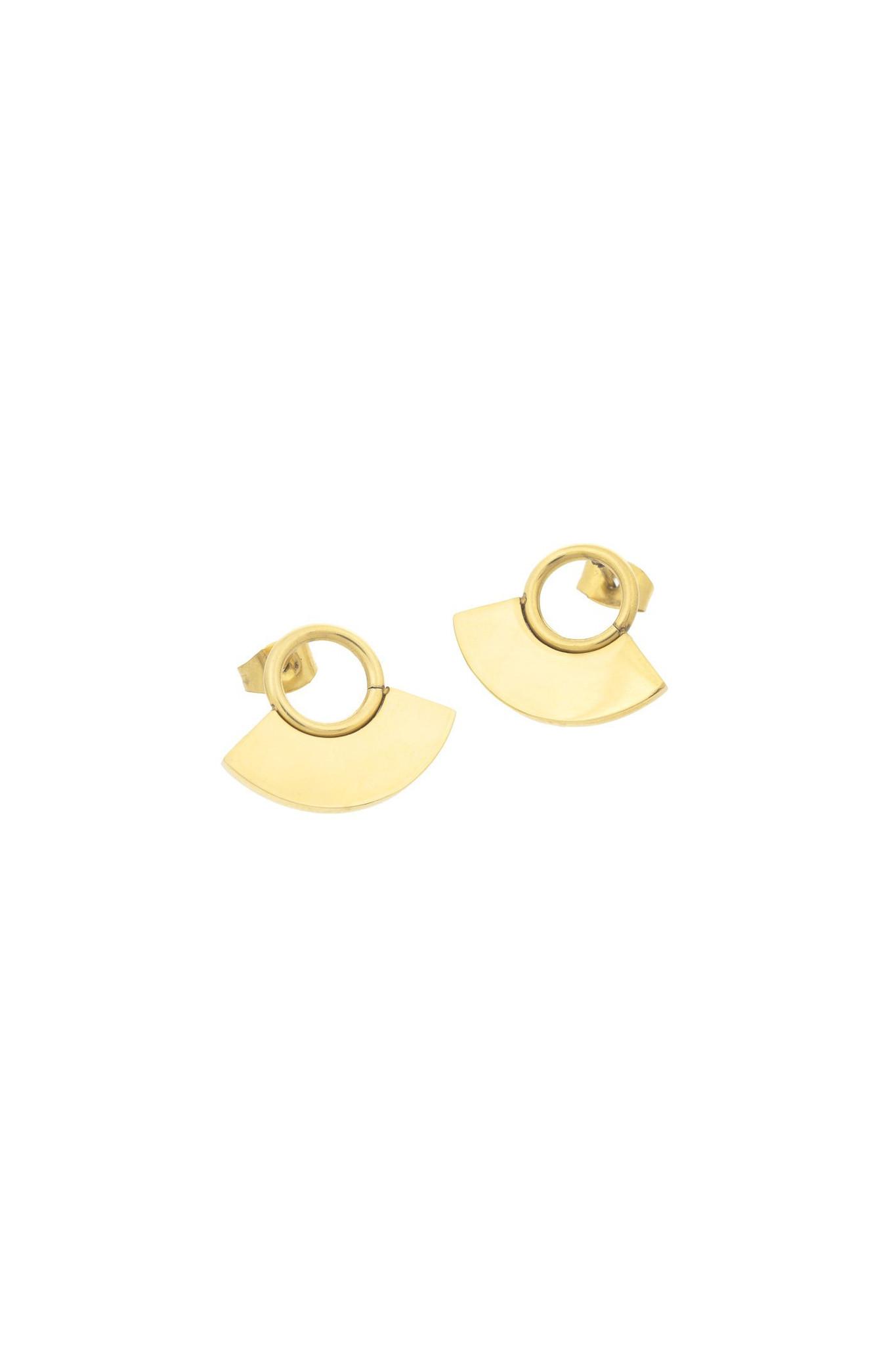 Moonsun Earrings - Gold-3