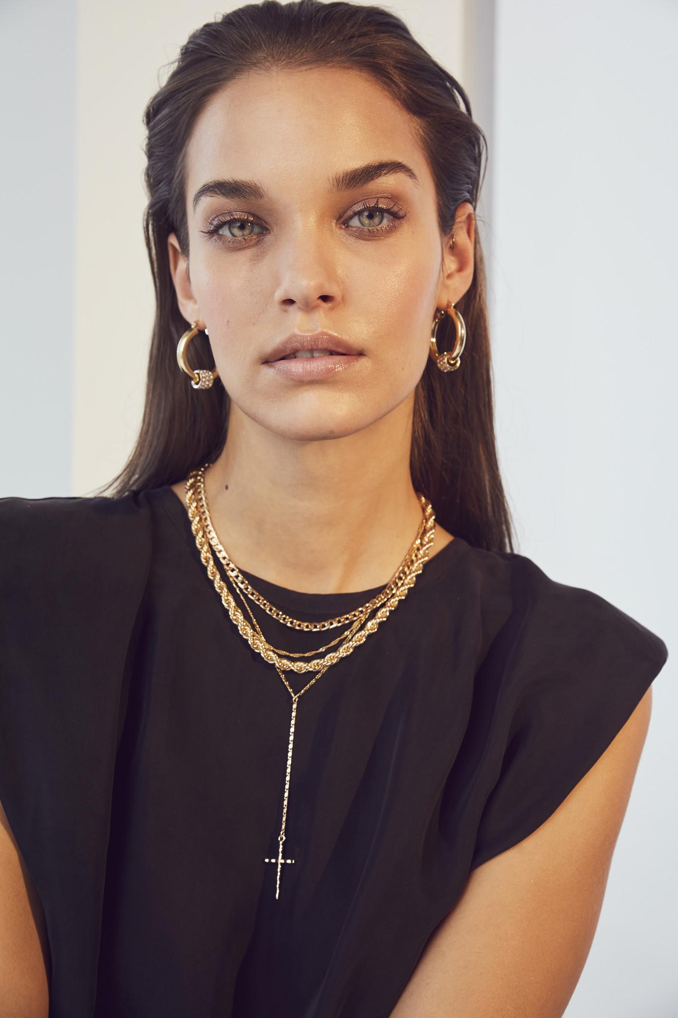 Eduarda Ankle Tee Dress - Black-4
