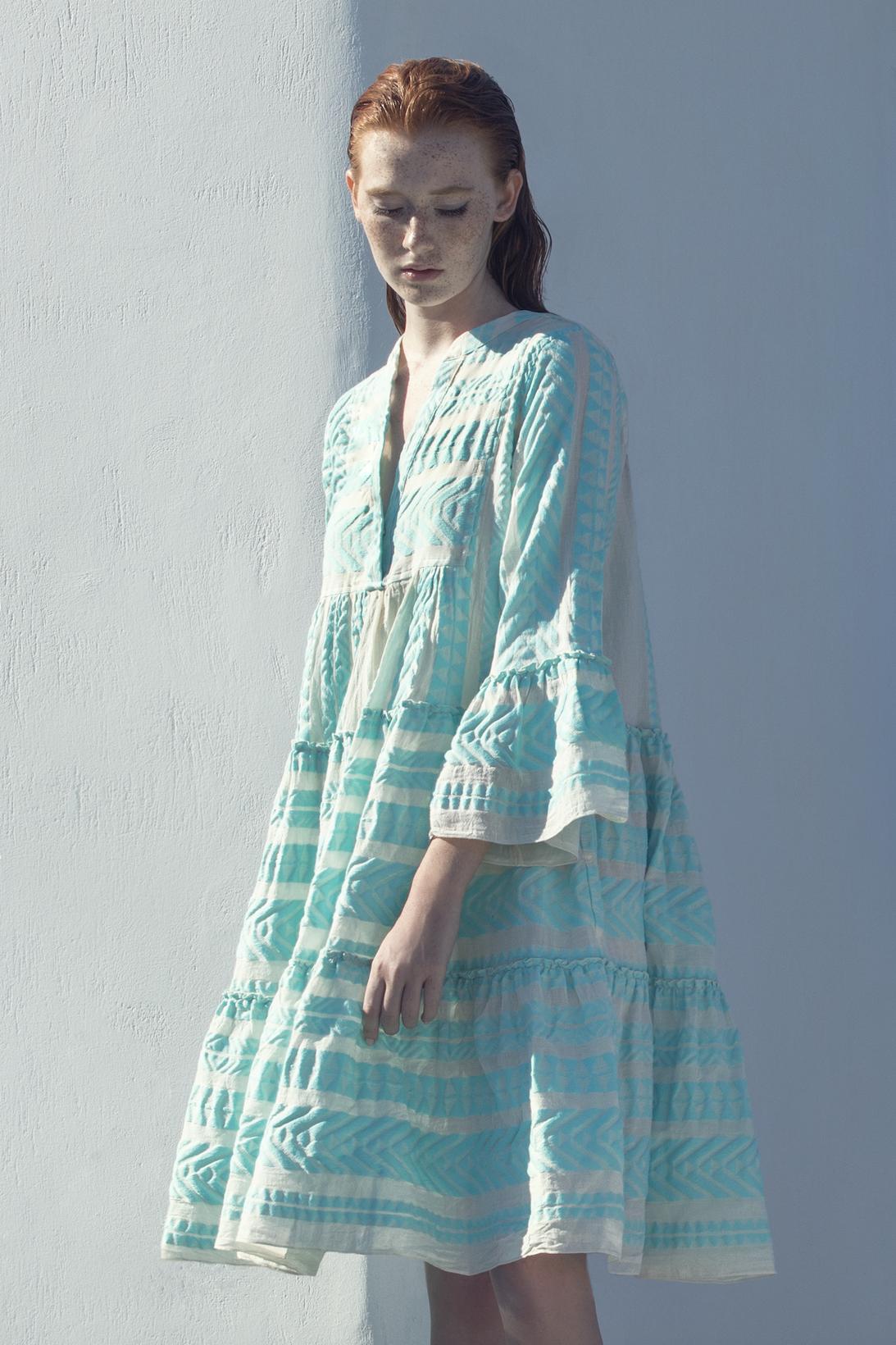 Short Dress Ella - Mint-2