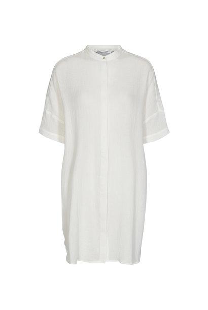 Crepe Tunic Shirt - Off White