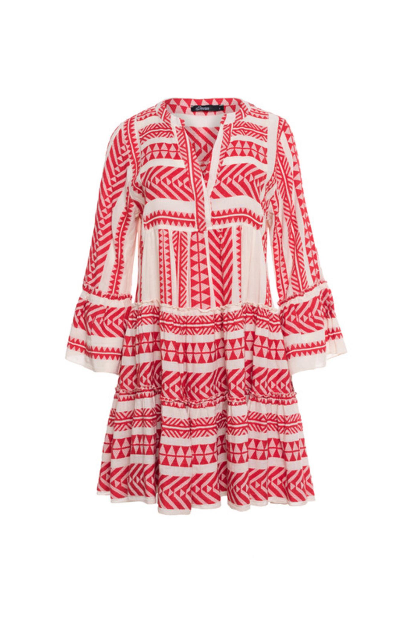 Short Dress Ella - Red-1