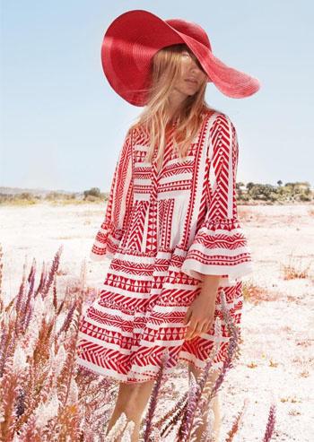 Short Dress Ella - Red-2
