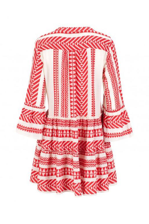 Short Dress Ella - Red-3
