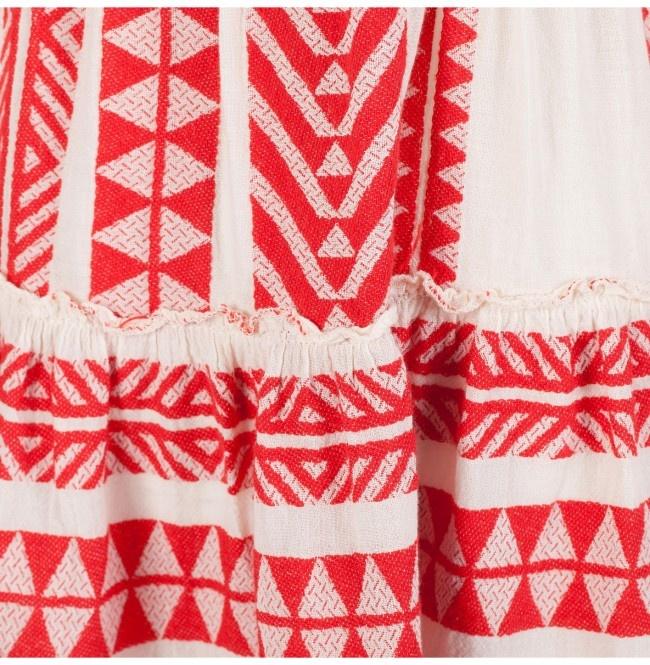 Short Dress Ella - Red-4