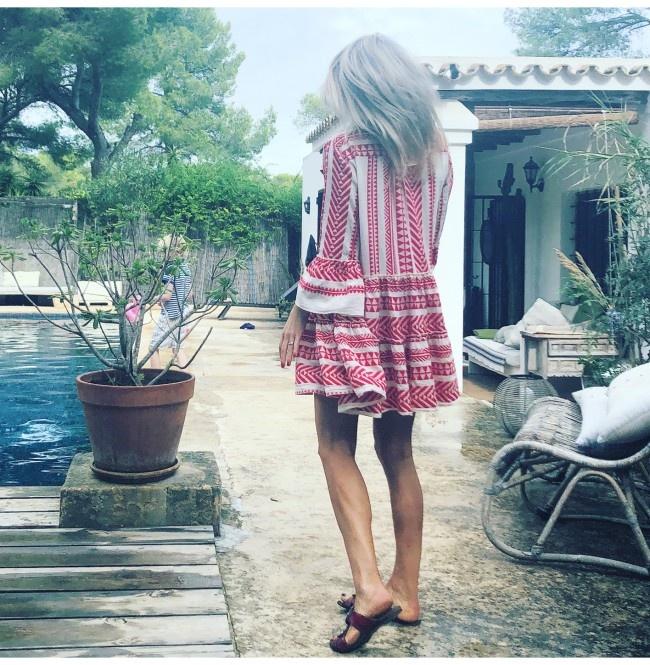 Short Dress Ella - Red-8
