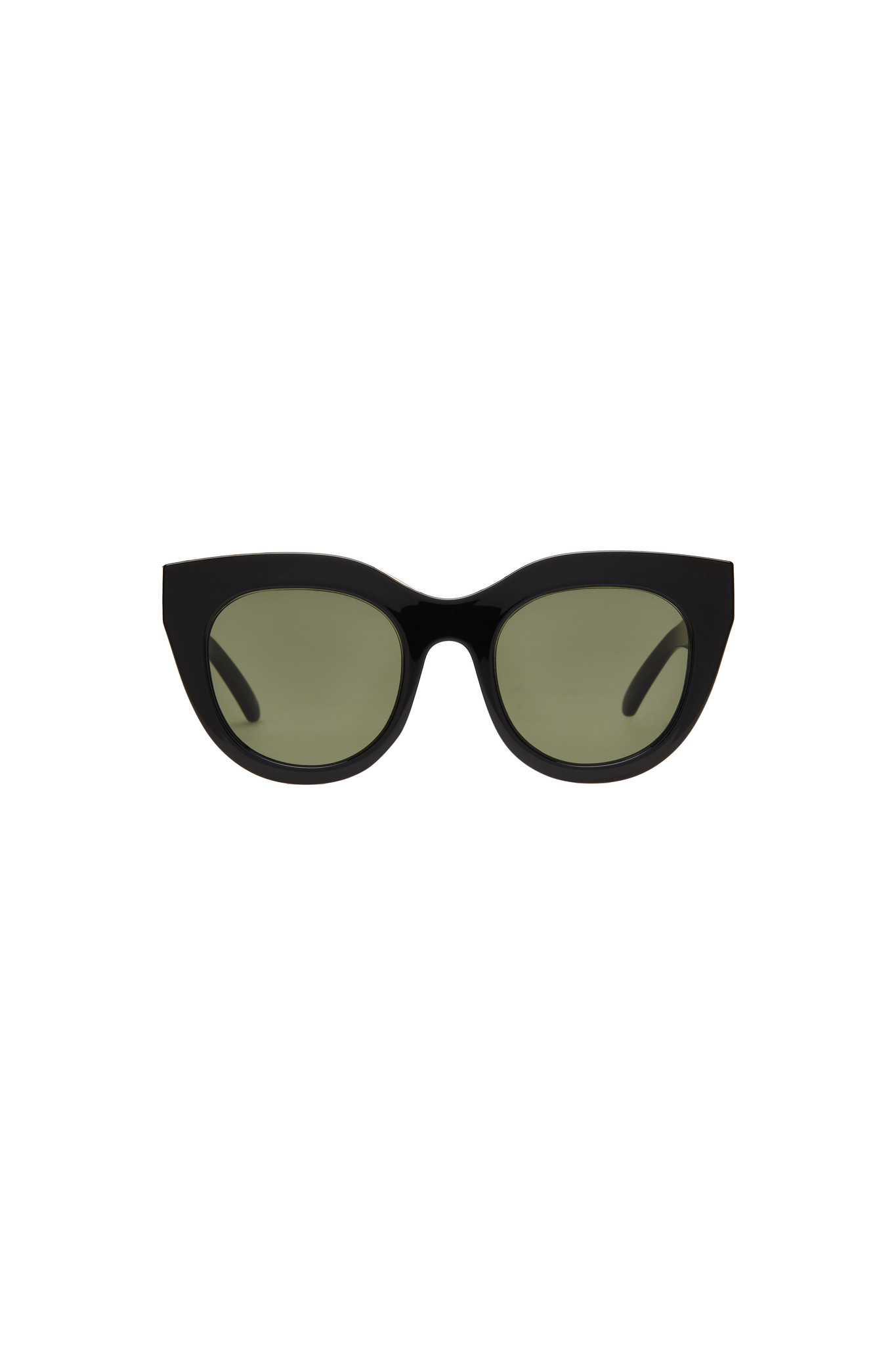 Air Heart Sunglasses - Black-1