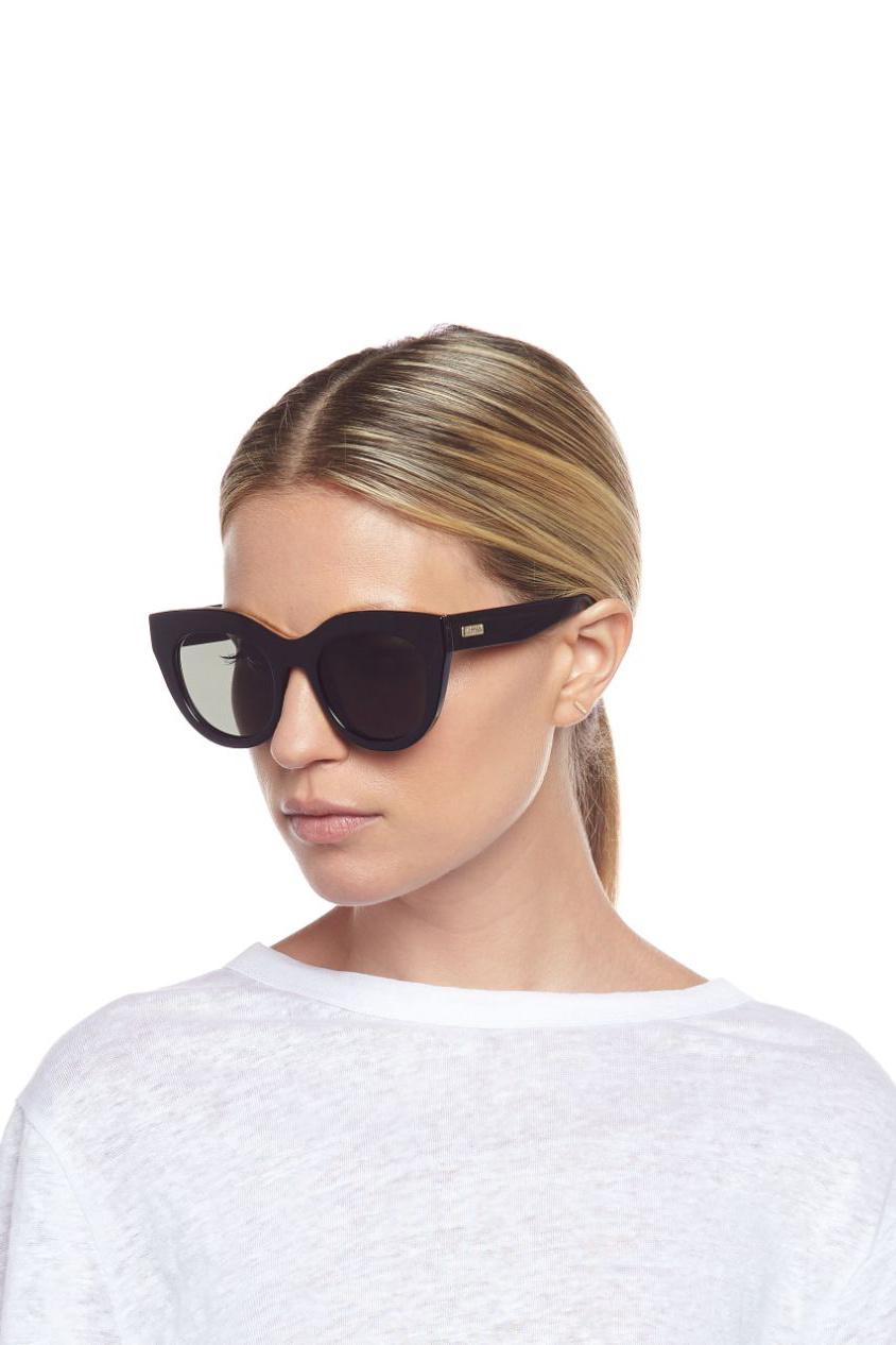 Air Heart Sunglasses - Black-6